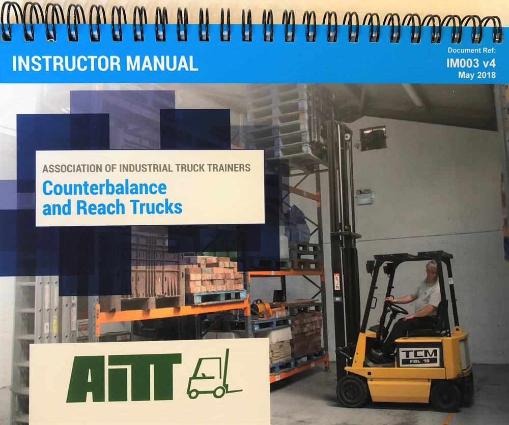 AITT Instructor Manual Counterbalance & Reach Truck image
